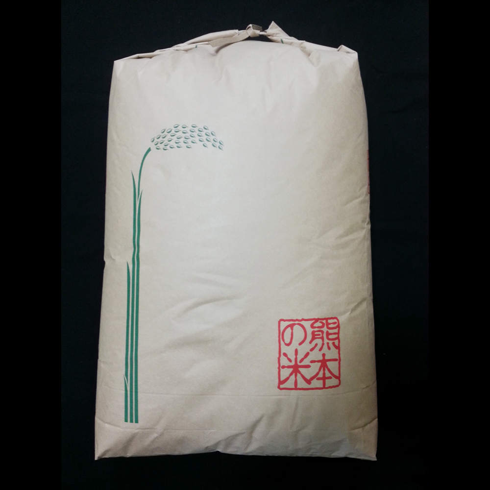 【令和2年産・新米玄米】熊本県産 検査済み『森のくまさん』 24Kg