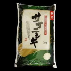 【30年産・特A】-宮城県-JA栗っ子『登米郡・復活ササニシキ』 【特別栽培米】  『ササニシキ』  5kg